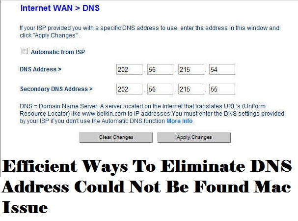 Know How To Fix DNS Address Could Not Be Found Mac [Quick Hacks]