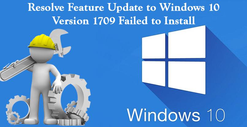 1709 failed to install