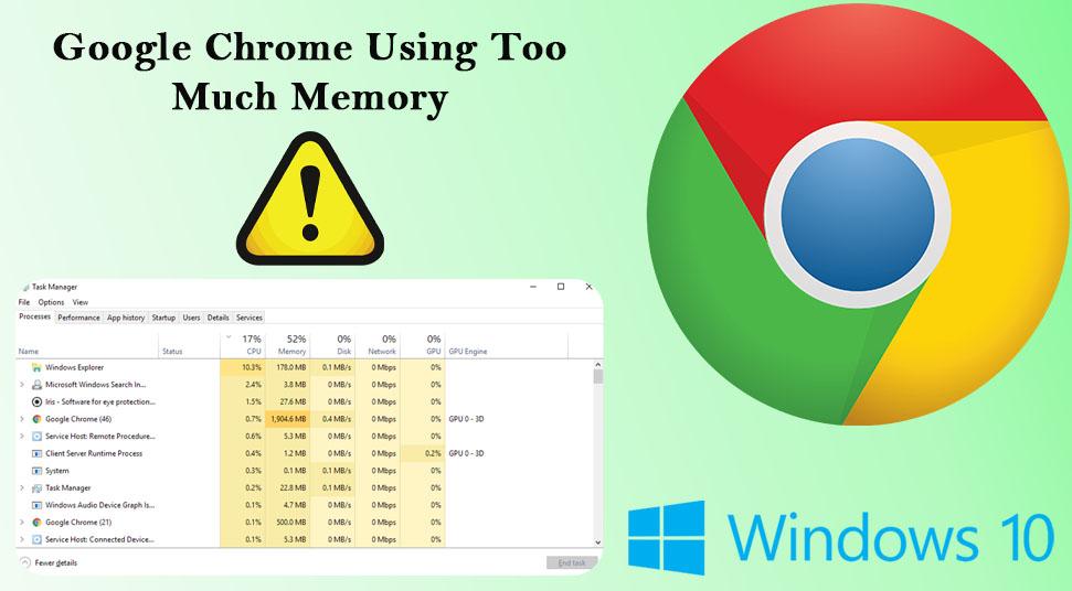 Google Chrome Using Too Much Memory