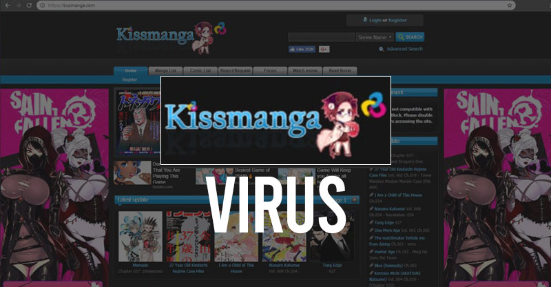 Kissmanga-Virus