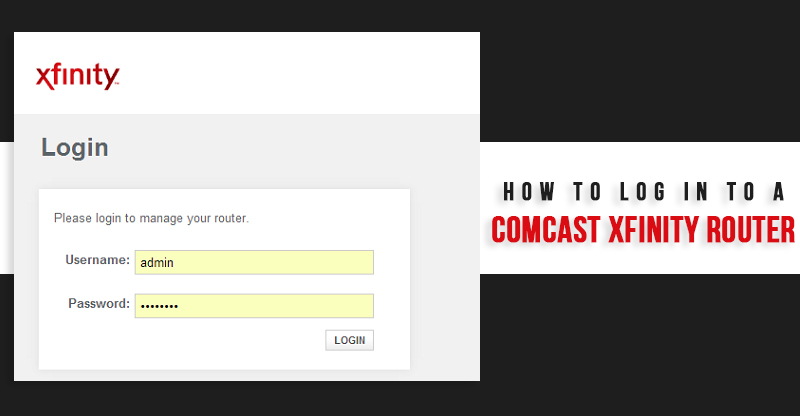 comcast login
