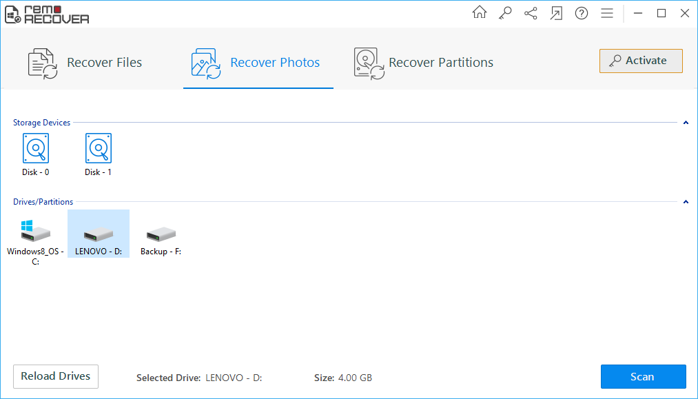 Remo Recover a Photo Recovery Software   Expert's Review   2021