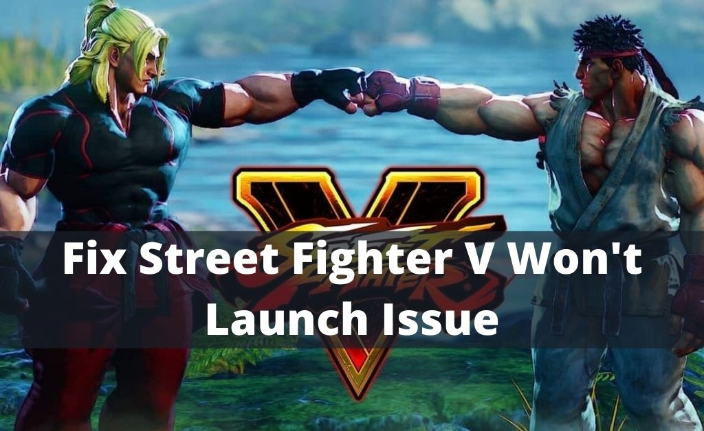 Street Fighter V Won't Launch